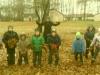 Linksma mums klasėj,  Linksma kieme,  Leidžia Danutė  Mums žaisti lauke.