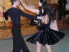 """Elektrėnų sportinių šokių kolektyvo \""""Reveransas\"""" šokėjai Greta Kvietkauskaitė ir Liudvikas Verikas (vadovai A. ir R. Suslavičiai)."""