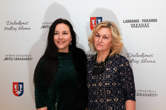 Janina Šidlauskienė su dukra Šarūne
