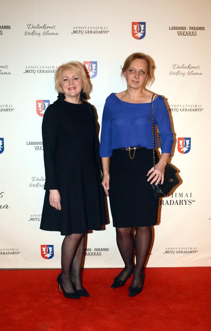 Virginija Macenavičienė ir Vaiva Pauliukonytė