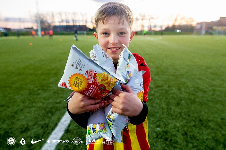 Ignas Kružikas kažkada futbolininko karjera pradėjo būdamas panašaus amžiaus.