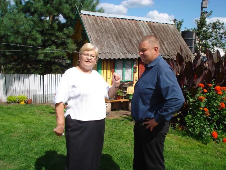 Stasė Karpavičienė (kairėje)