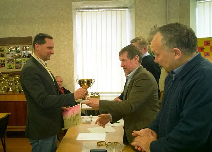 Saulius Voveris trečią kartą tapo Lietuvos čempionu.