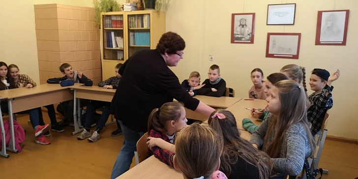 Gelvonų gimnazija vaikams pasiūlė galimybę diskutuoti.