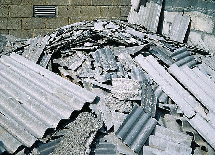 Asbesto atliekos