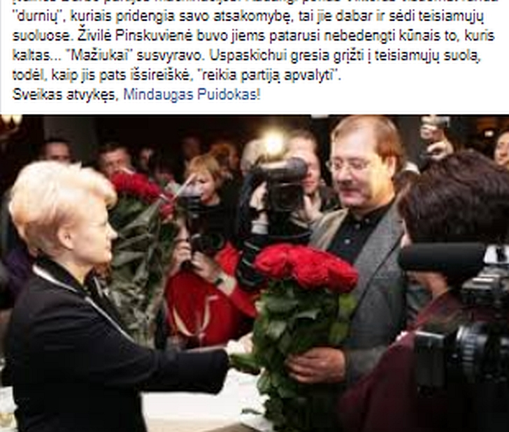 Živilė Pinskuvienė nesidairo į Darbo partiją.