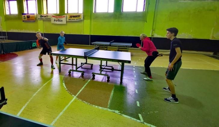 Širvintų rajono stalo teniso pirmenybės. Mišriųjų dvejetų dvikova.