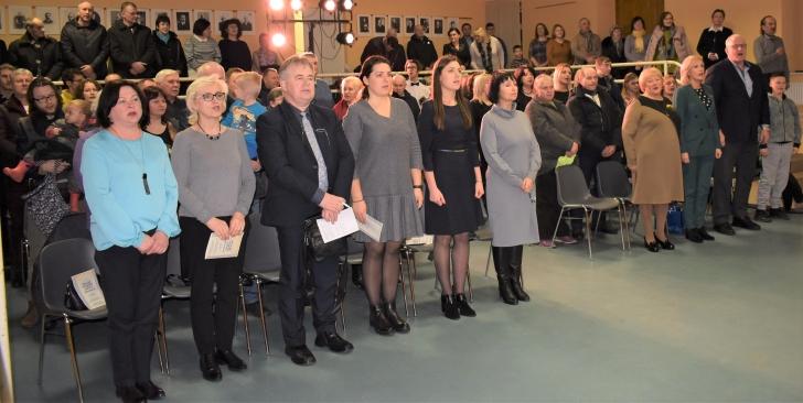 Musninkų seniūnijos kultūros diena pradėta himnu.