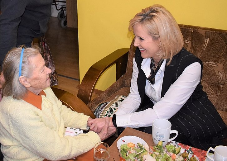 Širvintiškė Zosia Kuzmienė atšventė 100 metų jubiliejų.