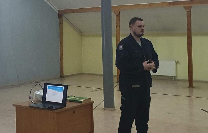 Virginijus Lukša priminė pagrindinius priešgaisrinės saugos reikalavimus.