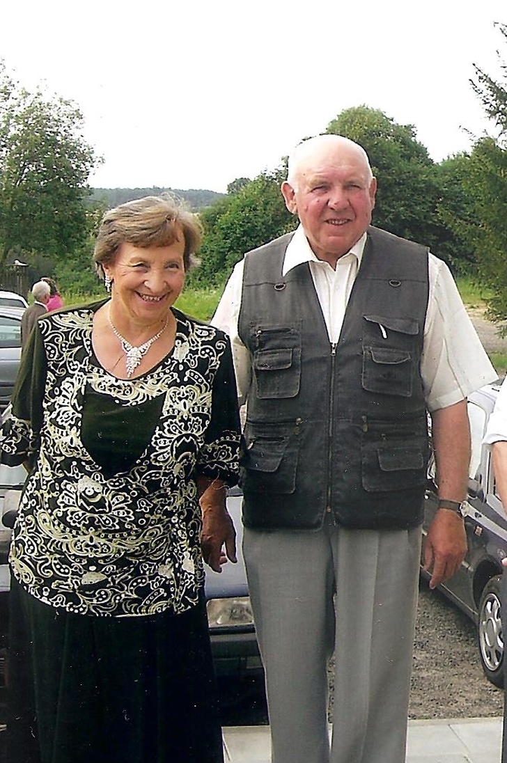 Algimantas Vėbra su žmona Joana