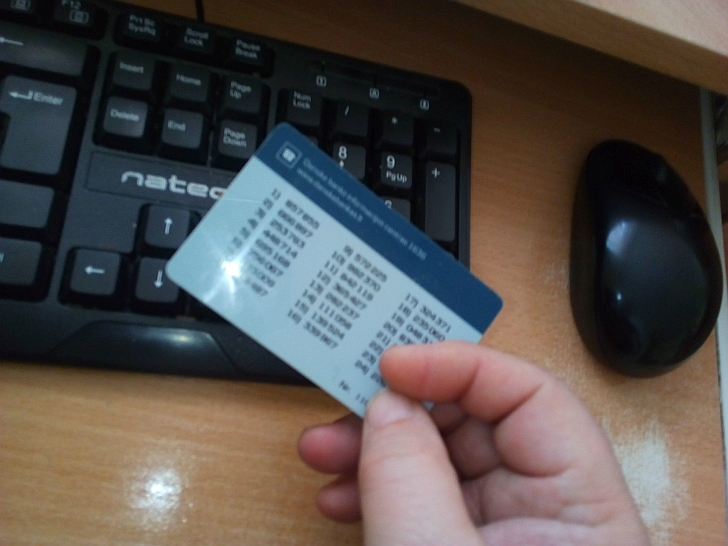 Kodų kortelė