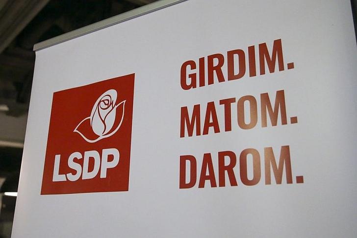 Socialdemokratai girdi, mato ir daro.