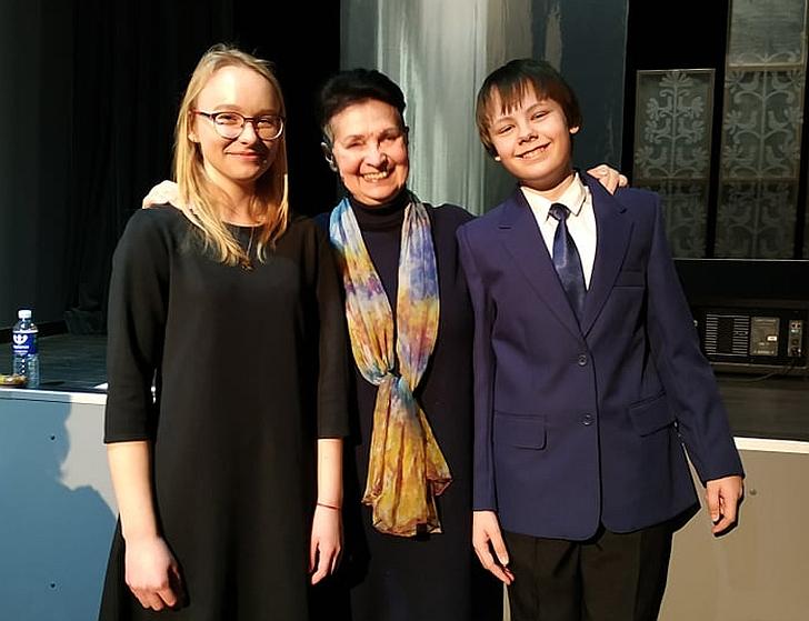 Adrija Redeckaitė, Danutė Vaigauskaitė ir Nojus Kralikevičius
