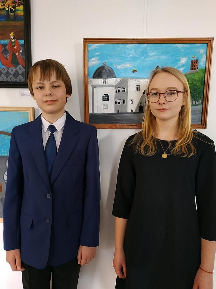 Nojus Kralikevičius ir Adrija Redeckaitė