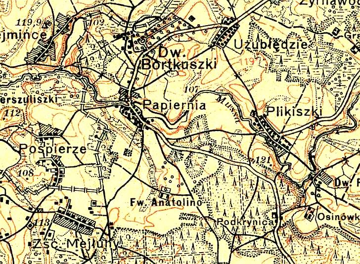 Išnykę vietovardžiai, tarp jų ir Anatolina Jauniūnų seniūnijoje.