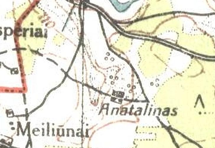 Išnykę vietovardžiai Jauniūnų seniūnijoje, šiuo atveju - Anatalinas?