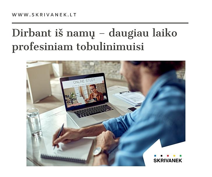 dirbti iš namų su kalbomis)