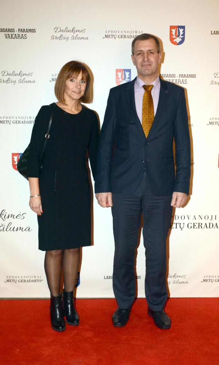 Vytas Mazuronis su žmona Loreta