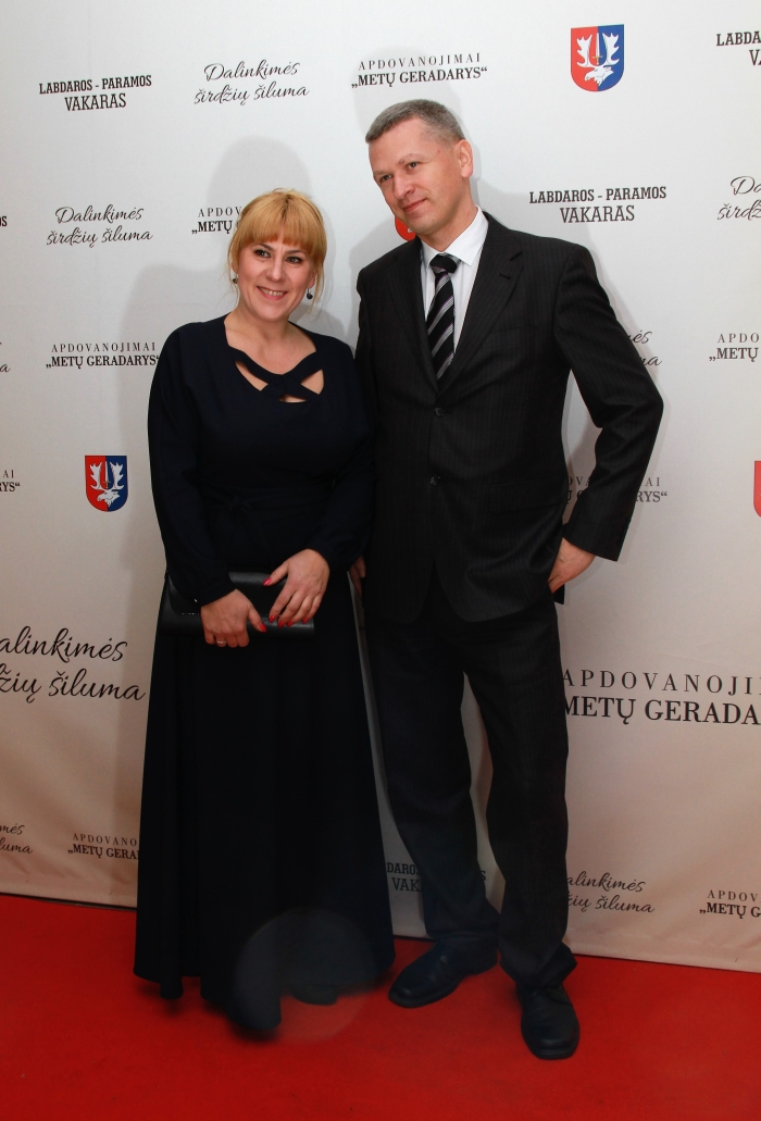 Žaneta Aleksandravičienė ir Artūras Gerulskis