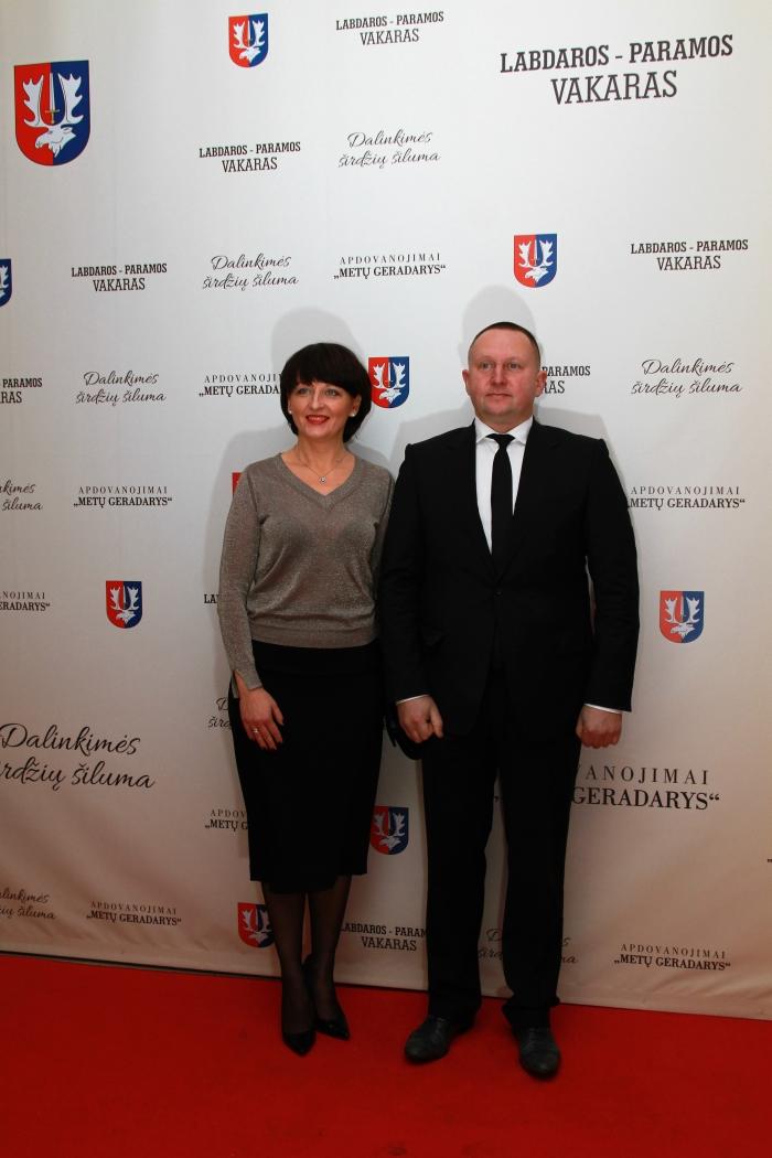 Gintarė ir Darijus Martinkos