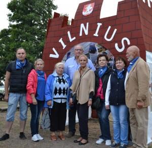 Su Vilniaus miesto skyriaus vadovybe