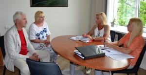 Susitikime aptartos Anciūnų krašto problemos