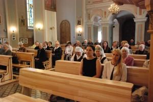 Širvintų bažnyčioje aukojamos Šv. Mišios už  tremtinius, politinius kalinius, visus, kentėjusius ir žuvusius už Lietuvos laisvę.