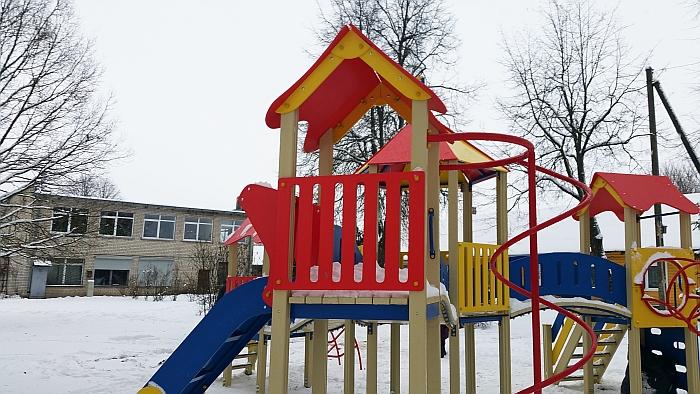 Žaidimų aikštelė Musninkuose