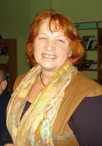 Sveikinimo kalbą pasakė plenero dalyvė, dailininkė, mokytoja Aldona Ragelskienė.