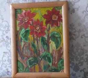 Visa menininkės tapyba prasidėjo nuo šio paveikslo...