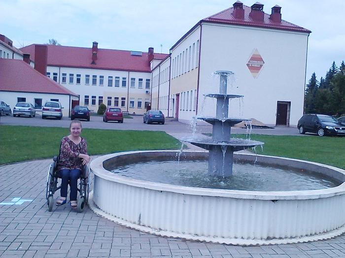 Aldona Vachmistrovičiūtė viliasi pasiekti savo tikslą įgyti specialybę ir būti naudinga visuomenei.