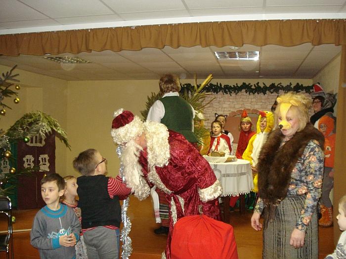 Kalėdų Senelis buvo dosnus.