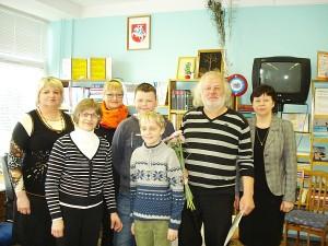 K. Garbatavičius (antras iš dešinės) nuoširdžiai dalino patarimus bei papasakojo apie savo likimo vingius.