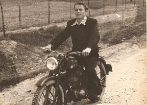 Kazimieras Autukevičius - 22 metų jaunuolis - Angarske.