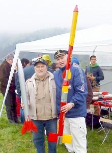 Slovakija. Aleksandras Antipenkovas (kairėje) nusifotografavo su varžybų organizatoriumi Tiboru Gira.