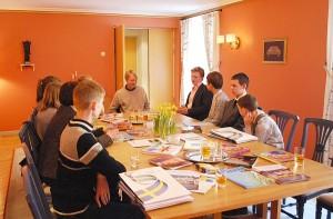 Susitikimo su Švedijos ambasados darbuotojais akimirka