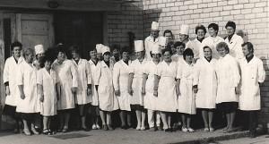 Širvintų medikai (pirmoje eilėje ketvirta iš dešinės Genovaitė Bagdonienė).