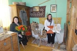 Svečiams iš Širvintų švietimo centro labiausiai patiko mokyklos kraštotyros muziejuje.