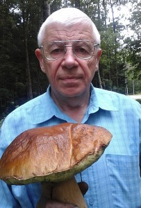 Julius Jagminas ir jo baravykas