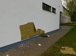 Sugadinta valgyklos siena