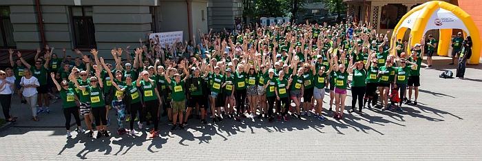 Erasmus+ bėgimo komanda.