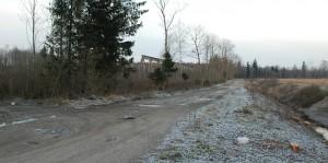 Šioje vietoje planuojama statyti plastiko perdirbimo gamyklą.