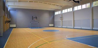 Iki L. Stuokos-Gucevičiaus sporto salės atidarymo liko visai nedaug