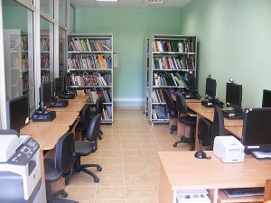 Izoliuotas bibliografijos-informacijos skyrius.