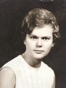 Dvidešimtmetė Danutė Blusevičienė.