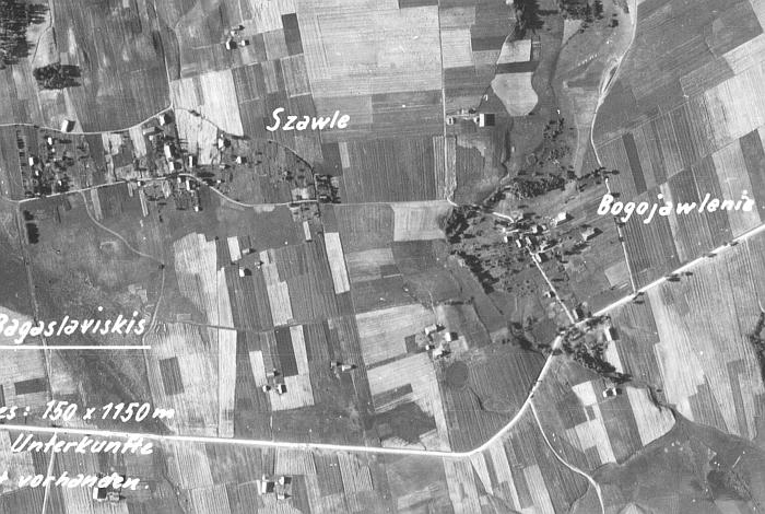 Kodėl vokiečiai Gelvonėlius pavadino Bogojewlenie? (wwii-photos-maps.com)