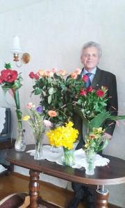 Jubiliejaus proga Borisas Sockis sulaukė daug sveikinimų.