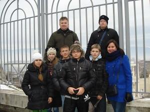 Širvintiškiai drauge su mokiniais iš Galabovo mokyklos.