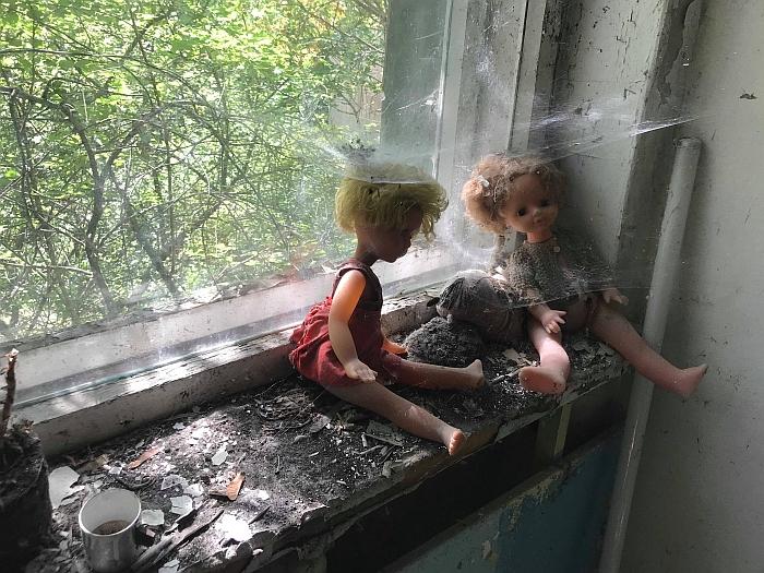 Prieš 32 metus palikti vaikų žaislai...